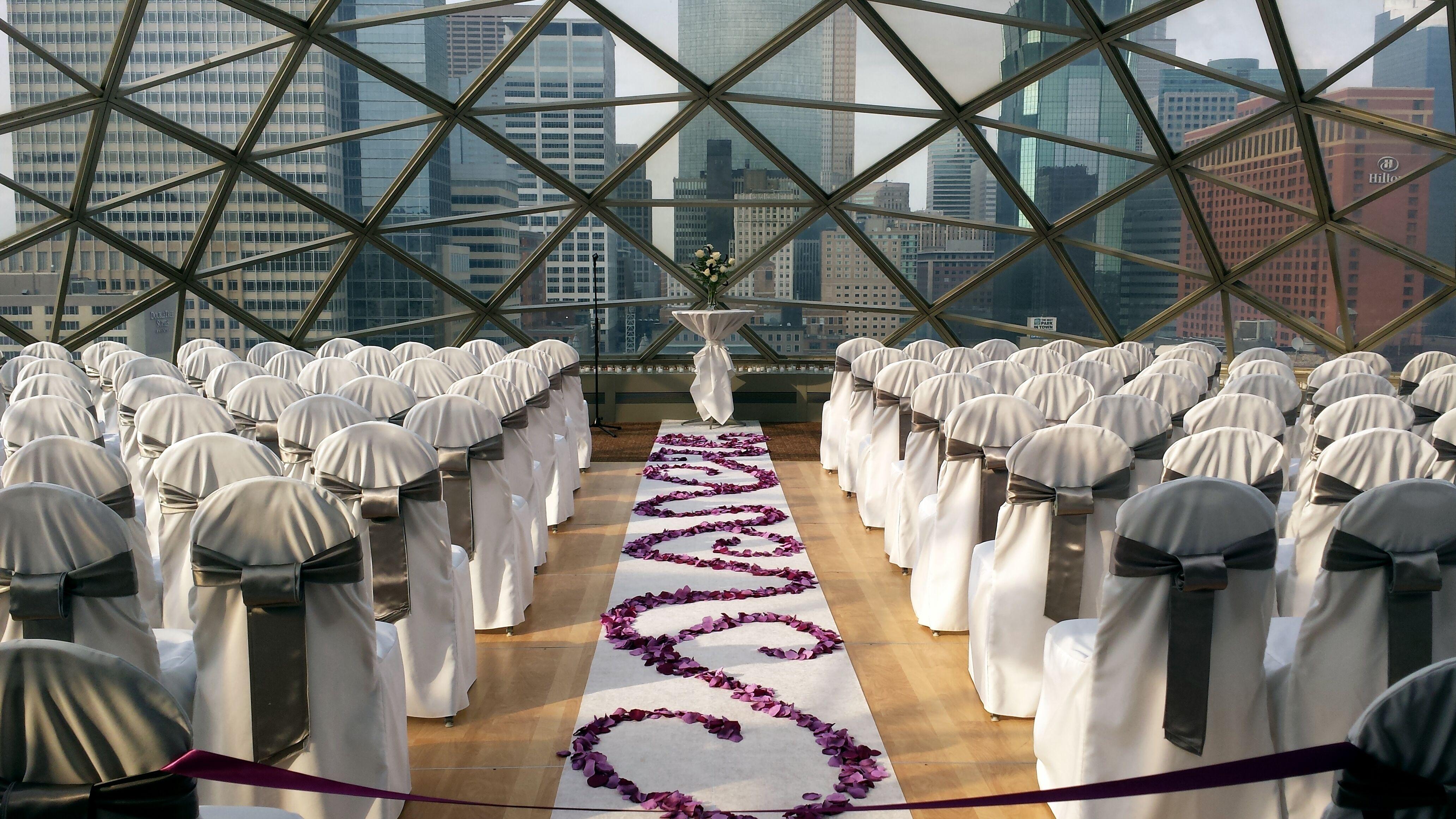 Minnesota Wedding Ceremony Locations: Millennium Hotel Minneapolis