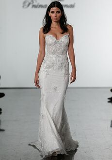 Pnina Tornai for Kleinfeld 4726 Sheath Wedding Dress