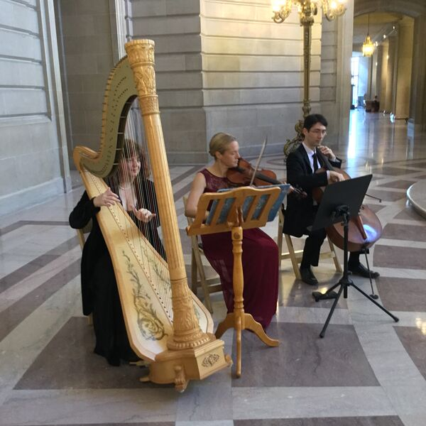 playing at SF City Hall