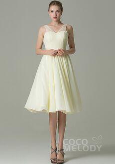 CocoMelody Bridesmaid Dresses COZK16001 V-Neck Bridesmaid Dress