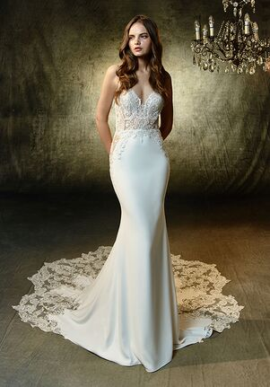 Blue by Enzoani Lena Mermaid Wedding Dress