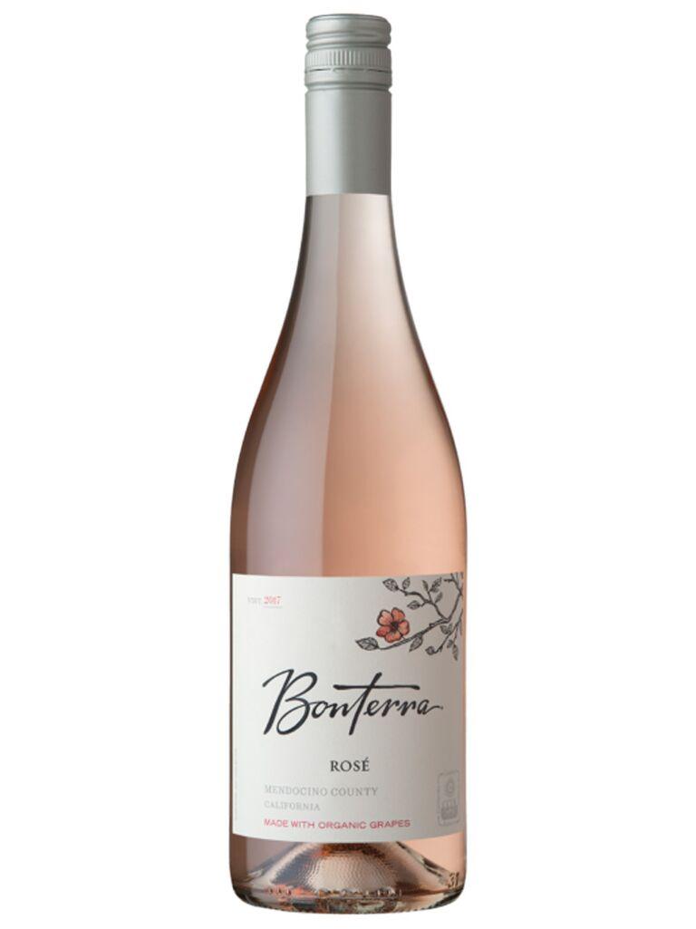 Bonterra rosé wine