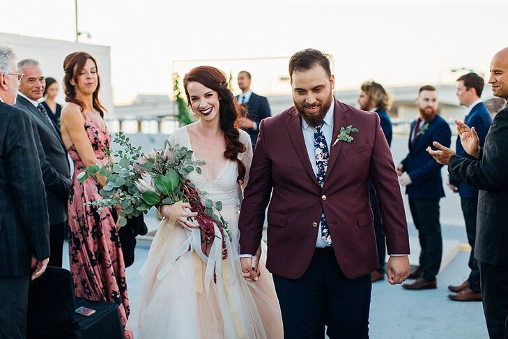 Rooftop Recessional at Six Hundred King in Jacksonville, Florida