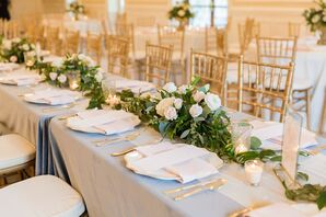 Classic Tablescape at O'Donnell House Wedding in Sumter, South Carolina