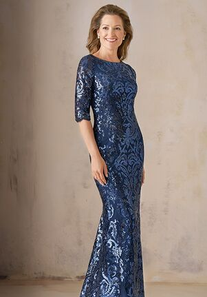 Jade Couture Mother of the Bride by Jasmine K208007U Blue Mother Of The Bride Dress