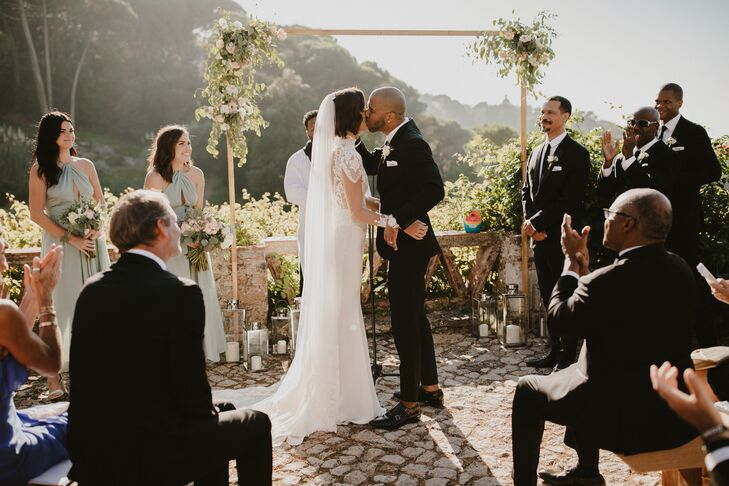 Destination Wedding Ceremony at Portuguese Villa
