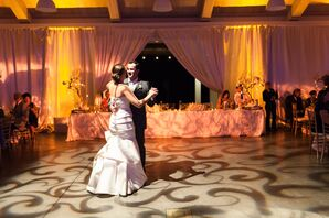 Lattice Lighting First Dance