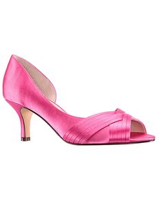 Nina Bridal Contesa_Strawberry Punch-Stain Pink Shoe