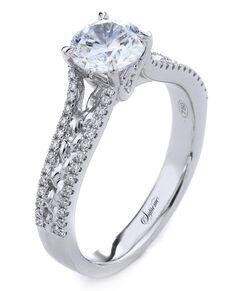 Supreme Jewelry Unique Round Cut Engagement Ring