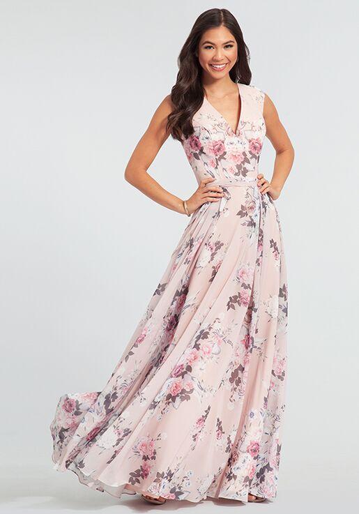 Kleinfeld Bridesmaid KL-200053 V-Neck Bridesmaid Dress