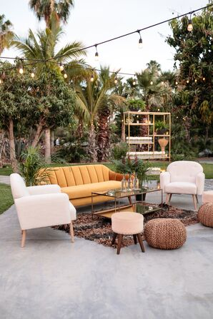 Bohemian Wedding Lounge Furniture