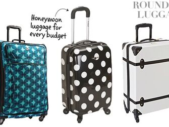 Honeymoon Luggage At Every Price Point