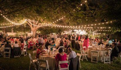 Indoor Secret Garden Wedding Elegantwedding Ca