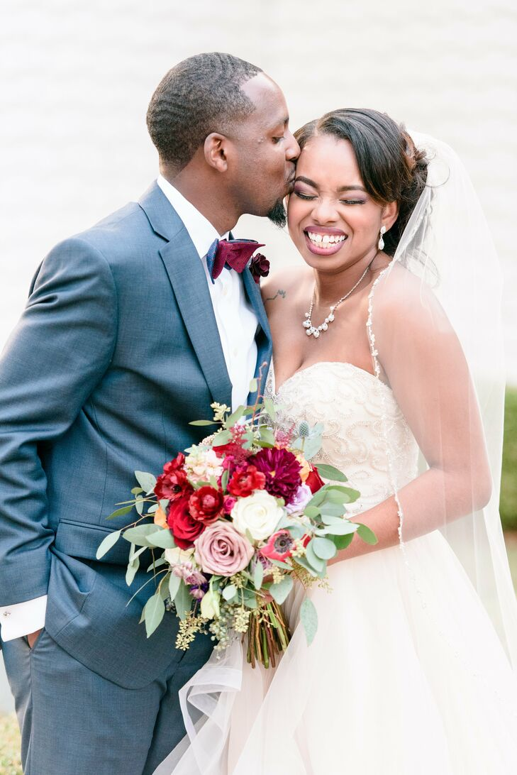 To honor Timothy's heritage, Kenyan songs and traditions were incorporated throughout their nuptials.
