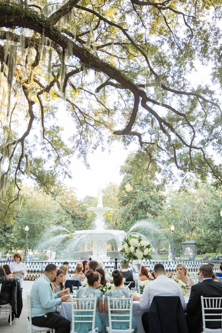 Forsyth Park Fall Reception