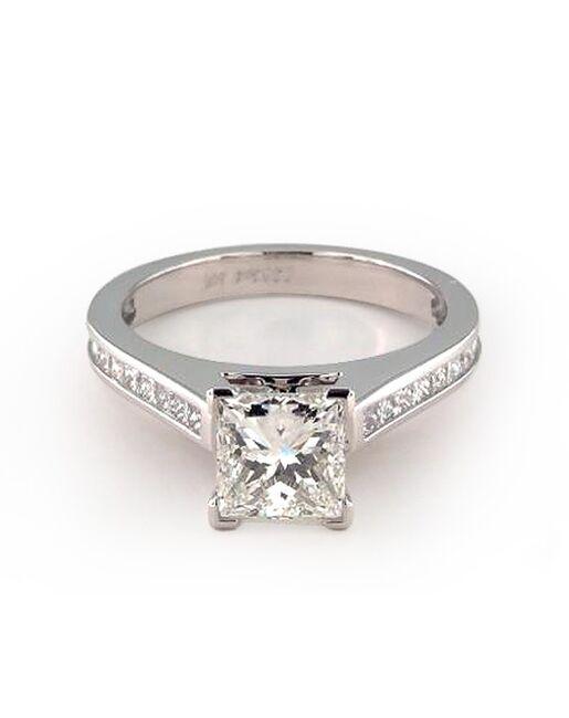 52749db8f7484 James Allen Thin Channel Set Princess Shaped Diamond Engagement Ring ...