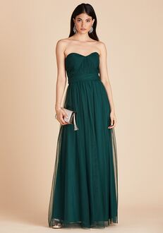 Birdy Grey Christina Convertible Dress in Emerald Sweetheart Bridesmaid Dress