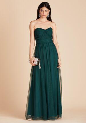 Birdy Grey Christina Convertible Dress in Emerald Sweetheart Bridesmaid Dress