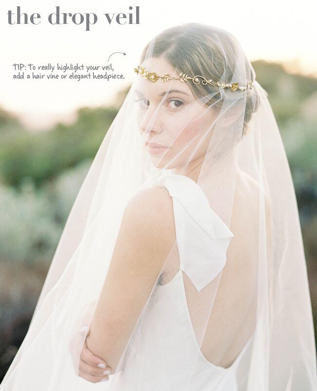 Styles Of Wedding Veils: New Wedding Veil Styles Plus Tips To Wearing Them