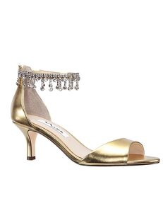 Nina Bridal Chianne_Gold Gold Shoe