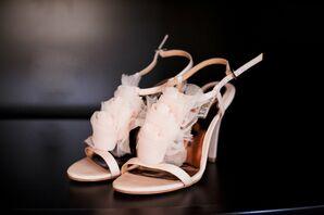 Tulle Rosebud Heels