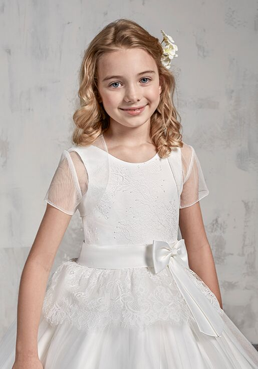 Mary's Angel by Mary's Bridal MB9016 Ivory Flower Girl Dress
