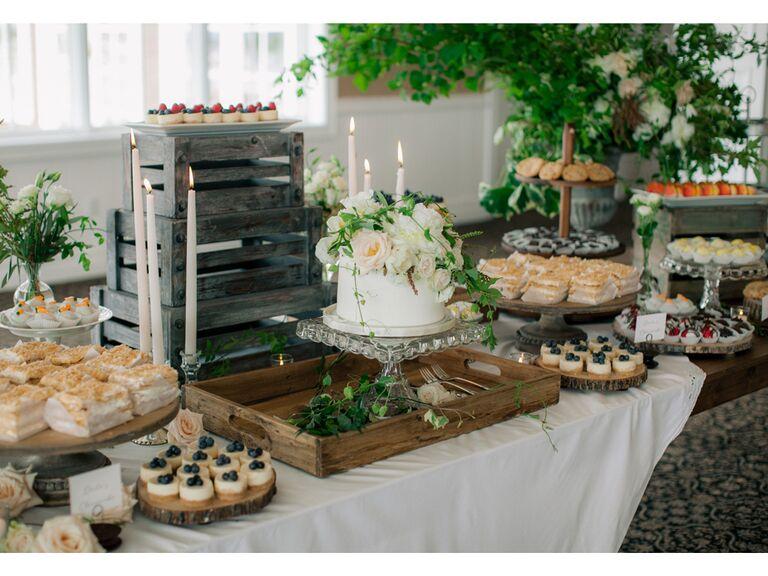 Wedding pastries