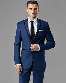 Generation Tux Mystic Blue Edge Lapel Suit Blue Tuxedo
