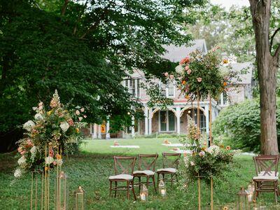 Portico - Awbury Arboretum