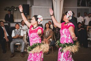 Traditional Reception Hawaiian Hula Dancing
