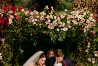 """Paige Saperstein and Robert Guinn let New York City inspire the style and theme of their wedding, which took place at the historic Bowery Hotel. """"The"""