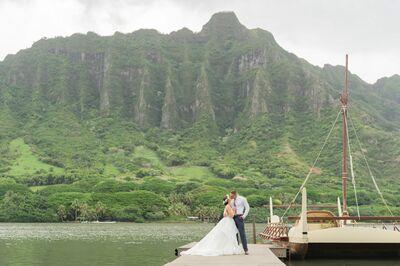 Simple Oahu Wedding
