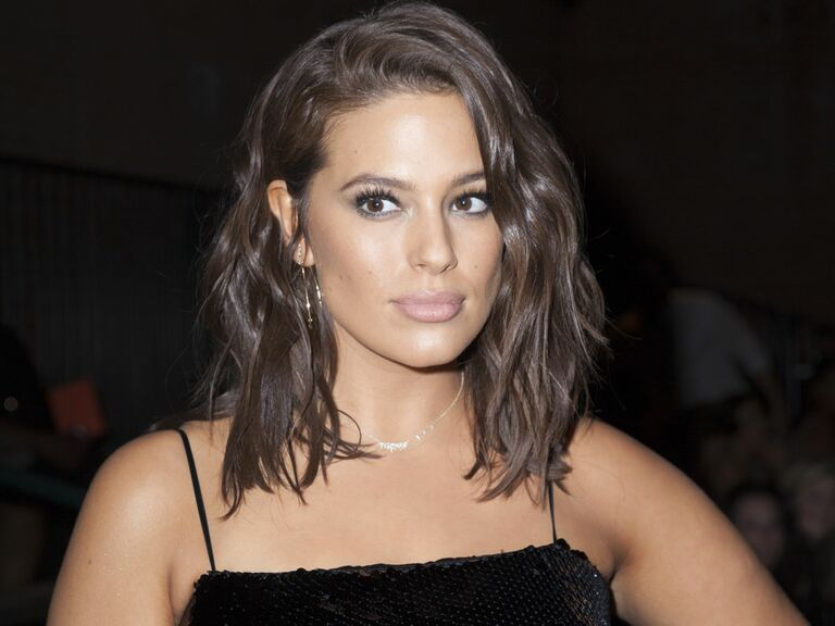 Ashley Graham Wedding.Ashley Graham Looked Edgy And Fabulous At Her Sister S Wedding