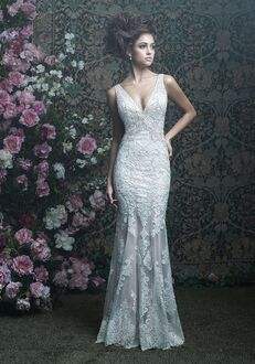 Allure Couture C408 Sheath Wedding Dress