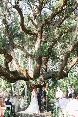 Romantic Ribault Club Garden Ceremony