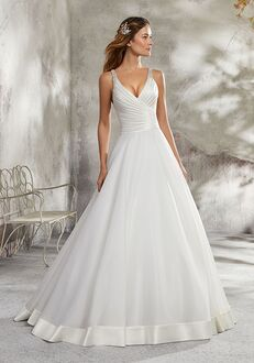 Morilee by Madeline Gardner/Blu 5690 / Lorena Ball Gown Wedding Dress