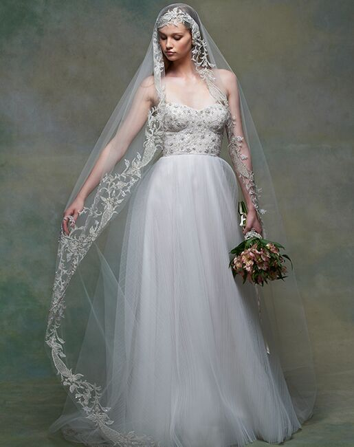 Blossom Veils & Accessories BV1555 Ivory Veil