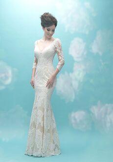 Allure Bridals 9472 Sheath Wedding Dress