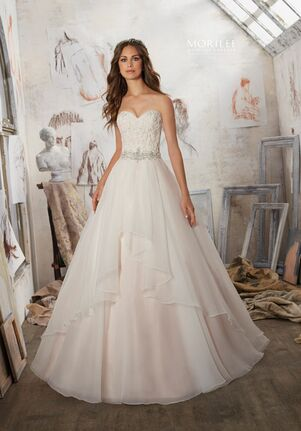 Morilee by Madeline Gardner/Blu 5511 A-Line Wedding Dress