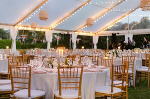 Natural, Elegant Tented Reception