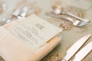 Art Deco Menu Cards