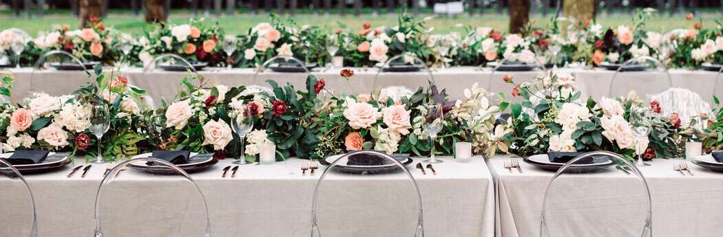 How to Make Your Wedding Colors Work for Any Season