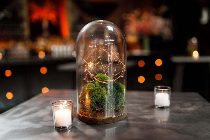 Modern Terrarium with Candles