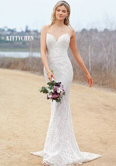 KITTYCHEN IVY, H1972 Sheath Wedding Dress