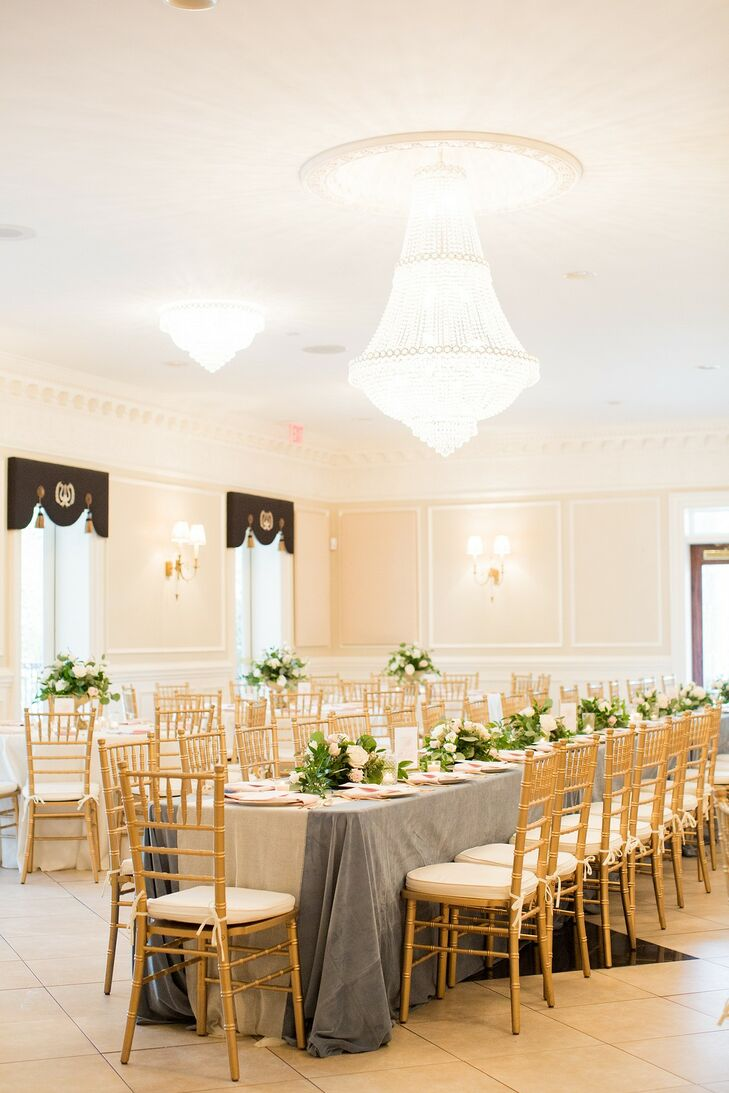 Chiavari Chairs and Chandeliers at O'Donnell House Wedding in Sumter, South Carolina