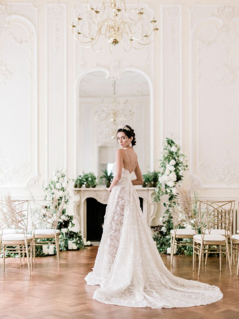 Bridal wear Designer Cynthia Grafton-Holt wedding dress