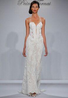 Pnina Tornai for Kleinfeld 4348W Sheath Wedding Dress