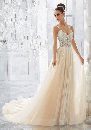 Morilee by Madeline Gardner/Blu Misty | Style 5565 Ball Gown Wedding Dress