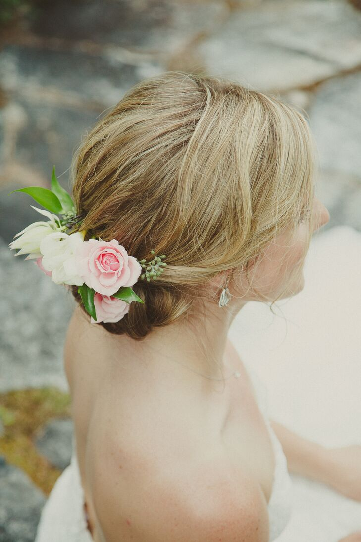 Fresh Pink Roses Hair Accessory