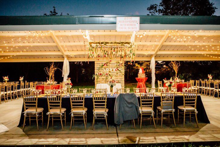 Rustic Reception at Richardson Historic Park in Wilton Manors, Florida